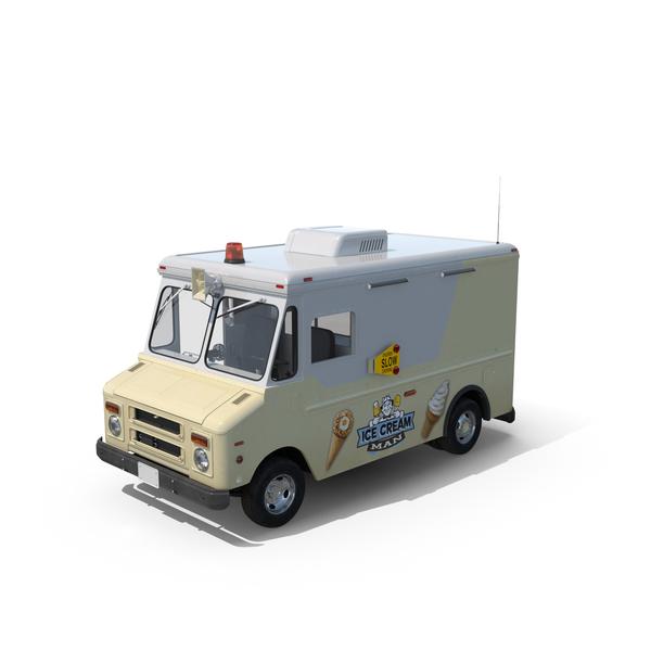 Ice Cream Van Object