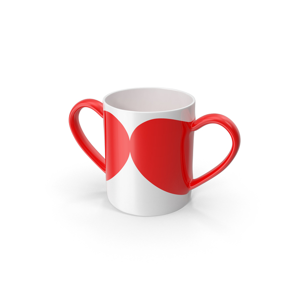 Dual Hearts Cup Object