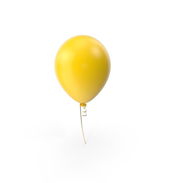 Yellow Balloon Object