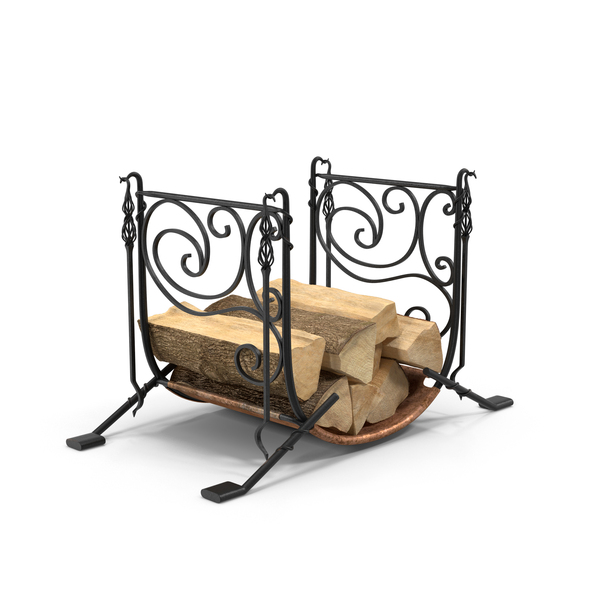Firewood Storage Rack Object